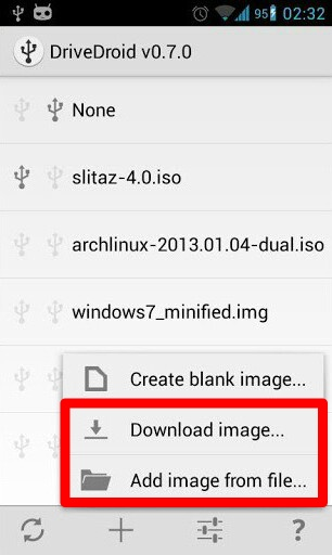 «add image from files»