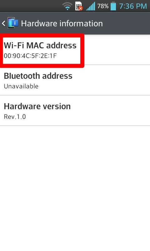 «hardware information»
