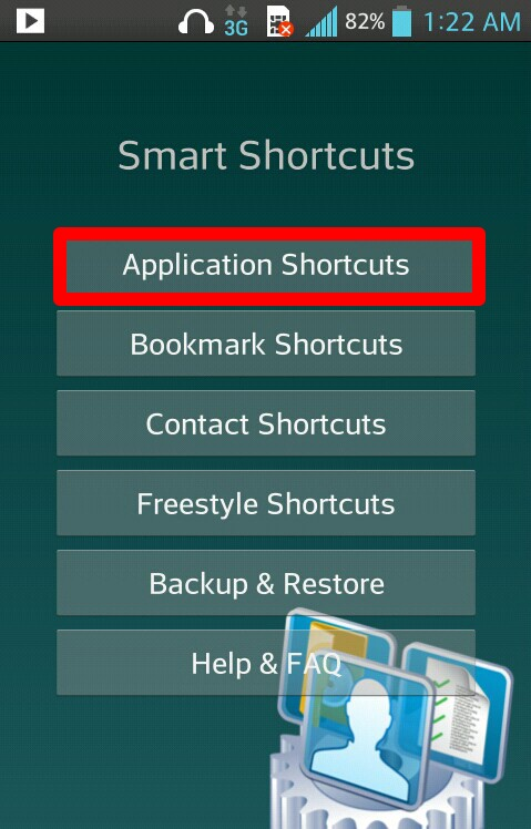 «Application Shortcuts»