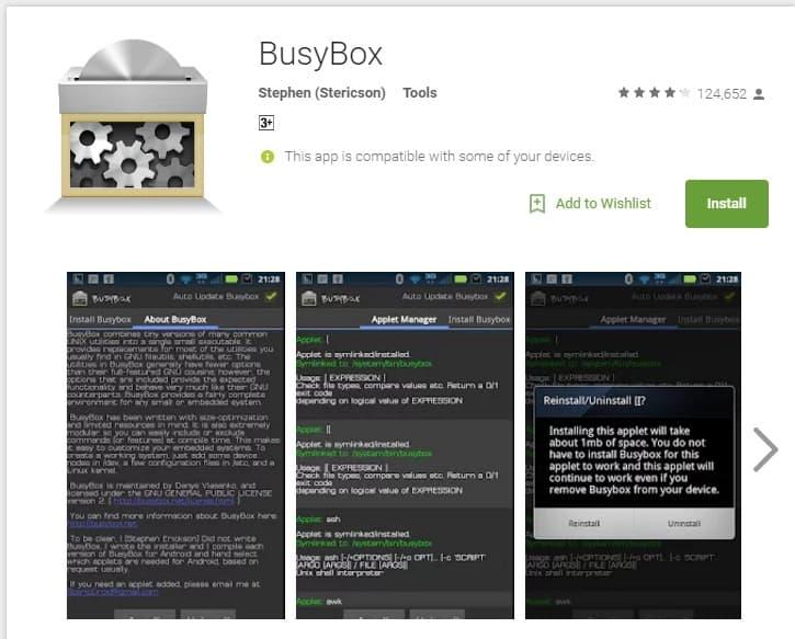 busybox программа на андроид